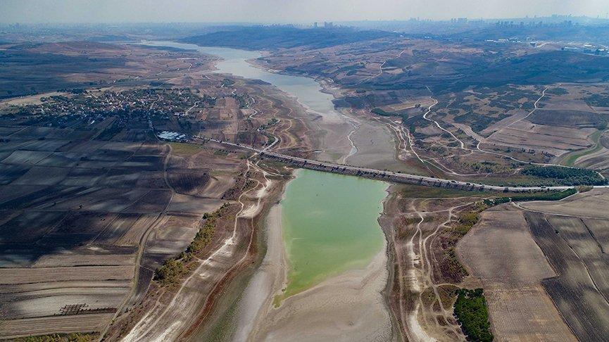 İstanbul barajlarında su seviyesi yüzde 20'ye düştü