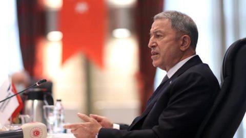 Bakan Akar'dan ortak merkez açıklaması: 1 general 35 subayımız göreve başlayacak