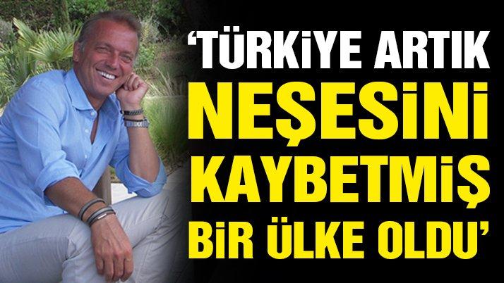 Türkiye artık neşesini kaybetmiş bir ülke oldu