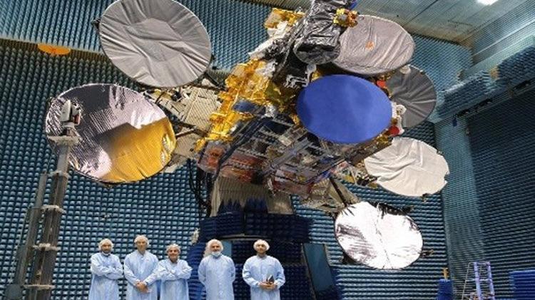 5A uydusu uzaya fırlatılıyor