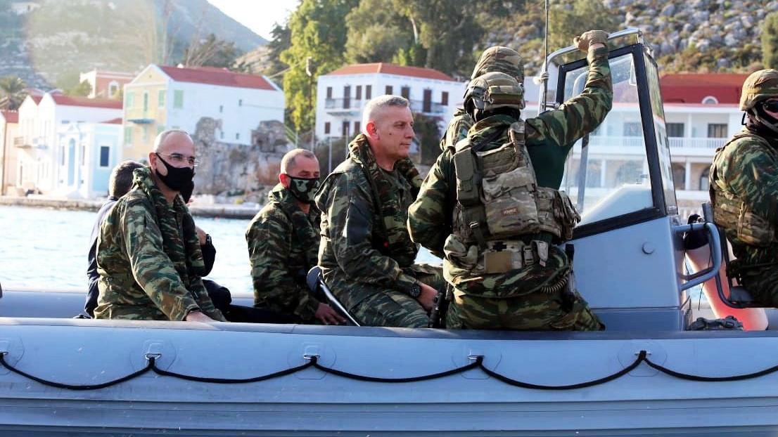 Yunanistan'dan tehlikeli hamle: Kardak kayalıklarının karşısında...