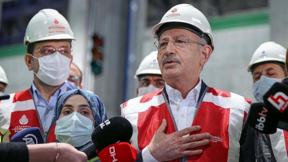 Kılıçdaroğlu: İmamoğlu ihanet hançerini çıkarmak istiyor