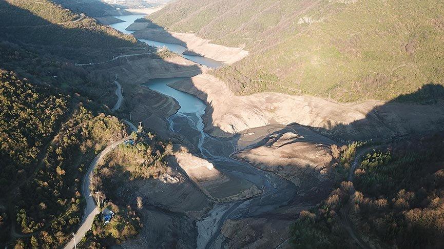 Yuvacık Barajı'nda su seviyesi yüzde 15'e düştü