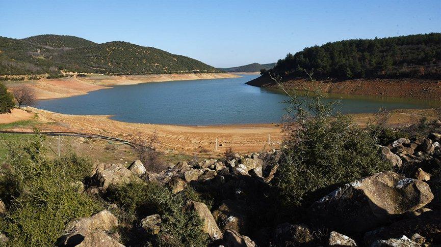 Kadıköy Barajı'nın doluluk oranı yüzde 8'e düştü