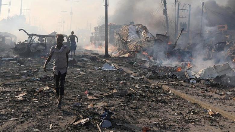 Son dakika... Somali'de Türk firmasının şantiyesine intihar saldırısı