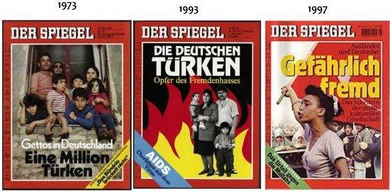 Türk çift, Alman Der Spiegel'e insanlık dersi verdi.
