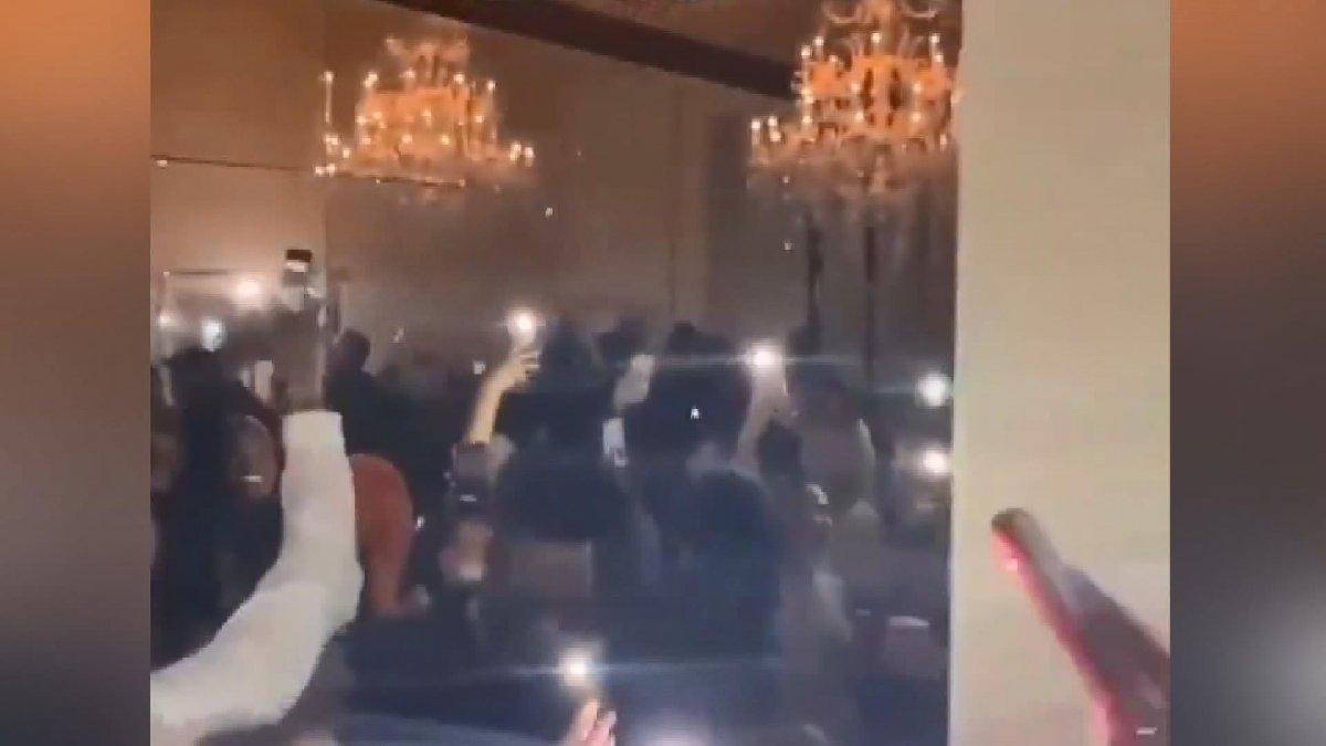 Umursamazlığın bu kadarı: Coronaya rağmen parti yaptılar