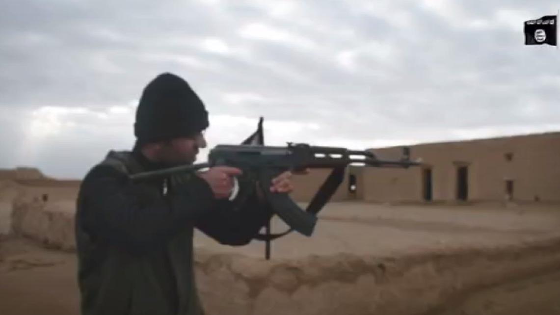 IŞİD'li terörist saklandığı örgüt evinde yakalandı