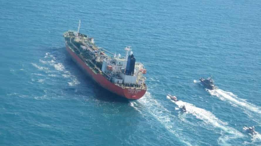 İran, Güney Kore gemisine el koydu