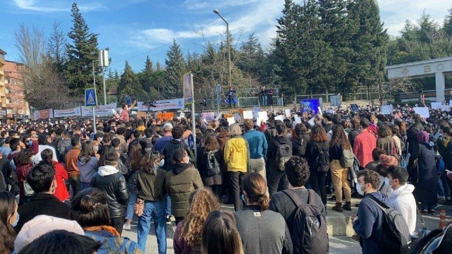 Boğaziçi Üniversitesi'ndeki eylemlerde gözaltı sayısı 22 oldu