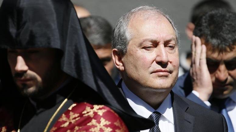 Ermenistan Cumhurbaşkanı Sarkisyan coronaya yakalandı