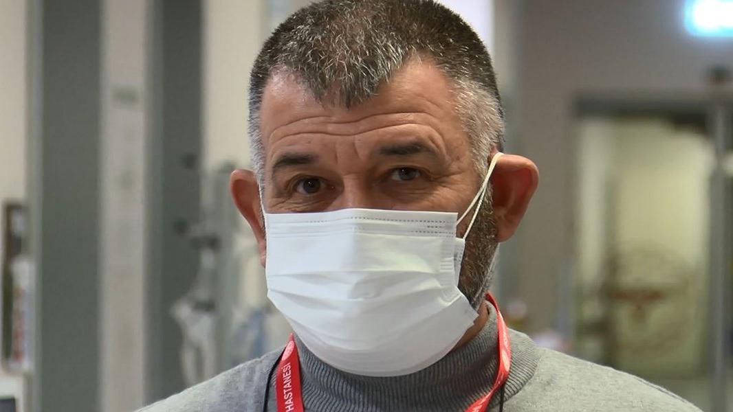 Coronayı yenen hastane çalışanı: Eşimle helalleştiğimi hatırlıyorum