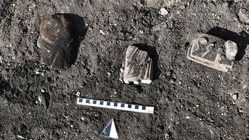 Kibyra Antik Kenti'nde Asklepios heykelciği ve Serapis büstü bulundu