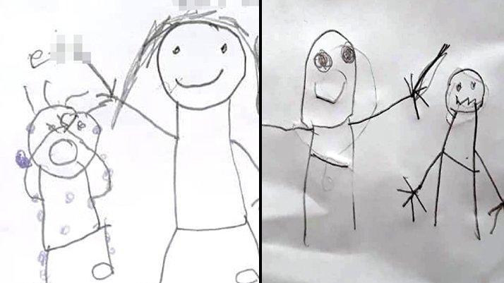 İki kardeşin resimlerle anlattığı cinsel istismar iddiasında tahliye