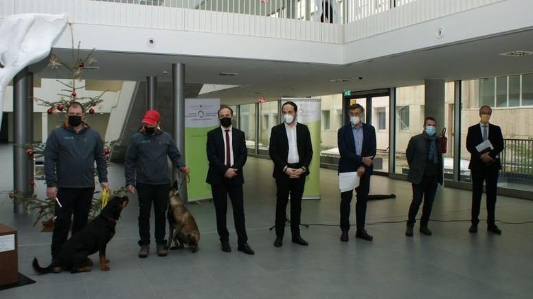 Köpekler, okullarda corona taraması yapacak