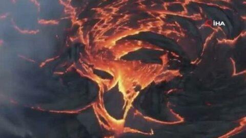 Kilauea Yanardağı lav püskürtmeye başladı