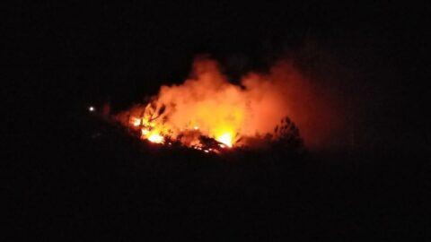 Aynı bölgede 7. kez orman yangını