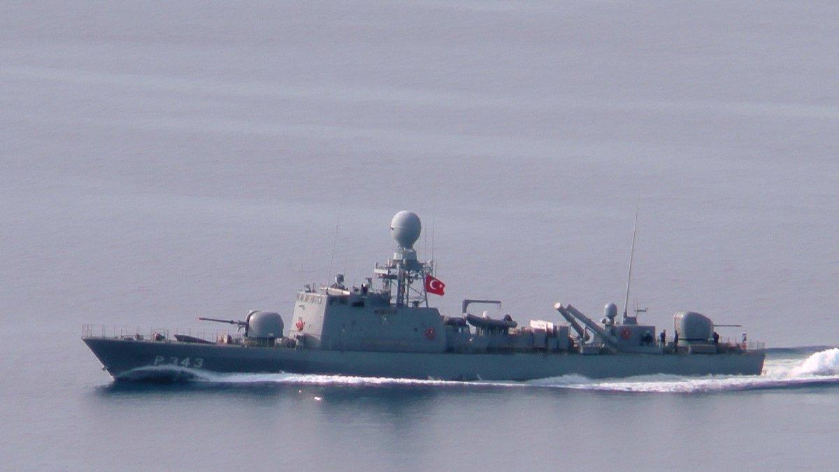 Kardak'ta sıcak saatler! Türk savaş gemileri bölgeye gitti
