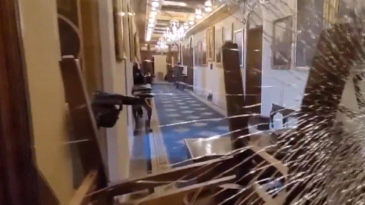 ABD kongresinde vurulan kadının vurulma anı ortaya çıktı