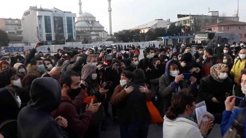 Boğaziçi protestosunda gözaltına alınan 21 öğrenci serbest bırakıldı
