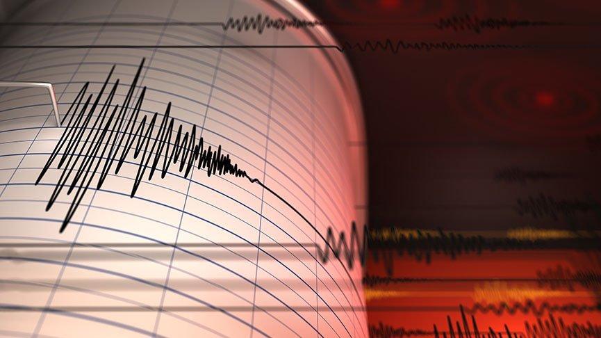 Denizli'de gece depremle geçti!