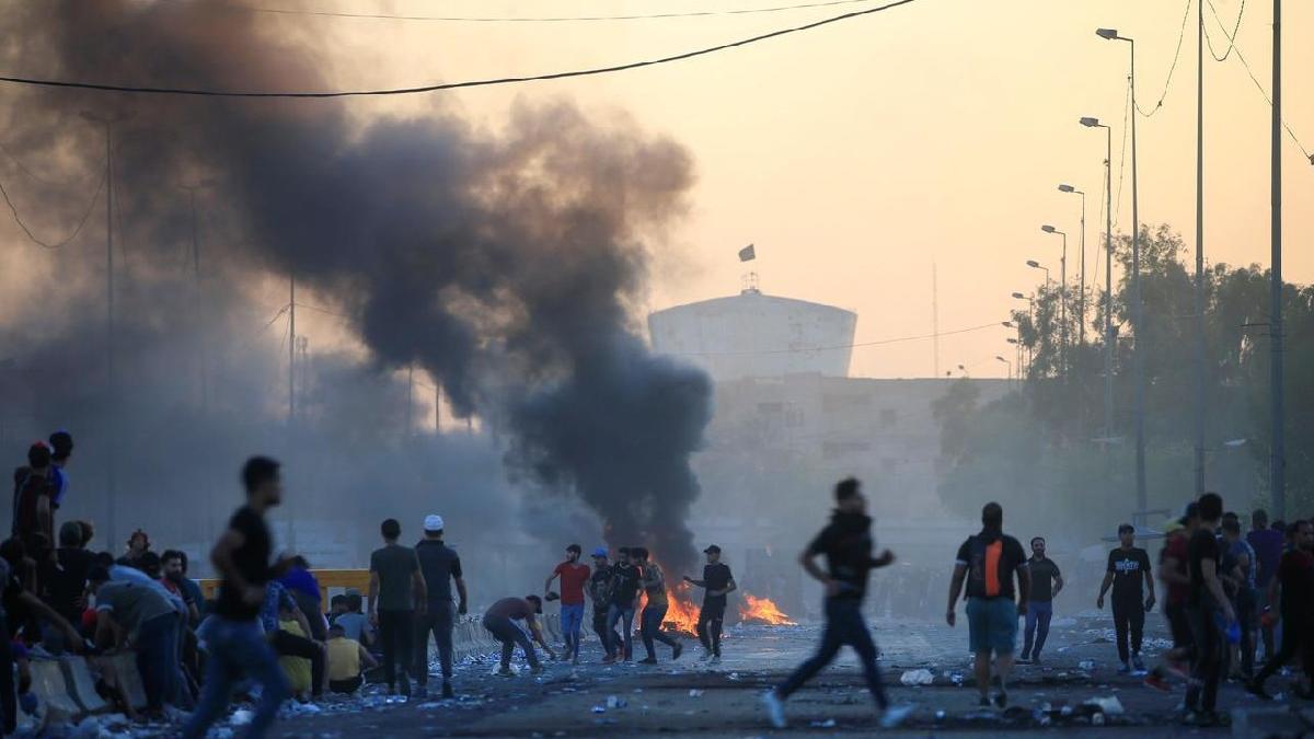 Irak'ta protestolar yeniden başladı
