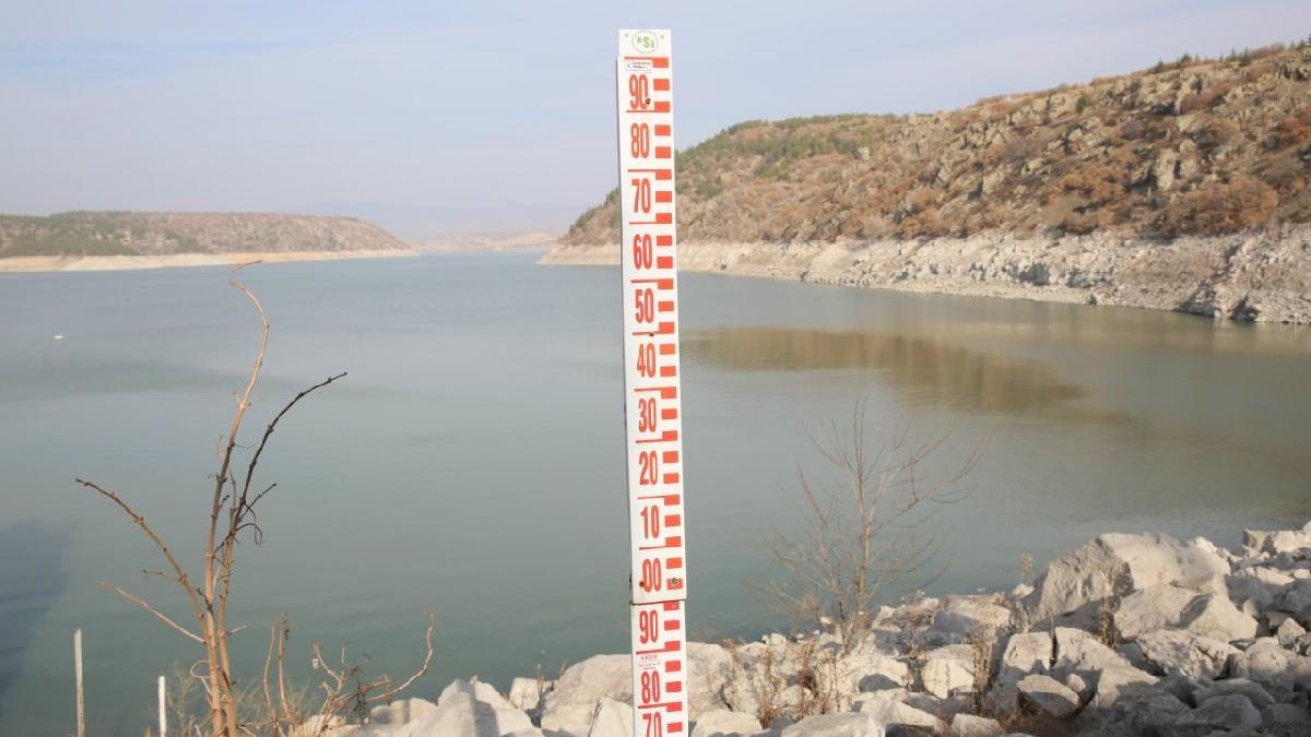 Başkent'te barajlar alarm seviyesinde