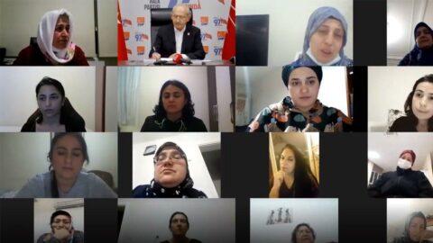 Ev emekçisi kadın, Kılıçdaroğlu'na göz yaşları içinde anlattı: Korkuyla günü geçirmekteyim