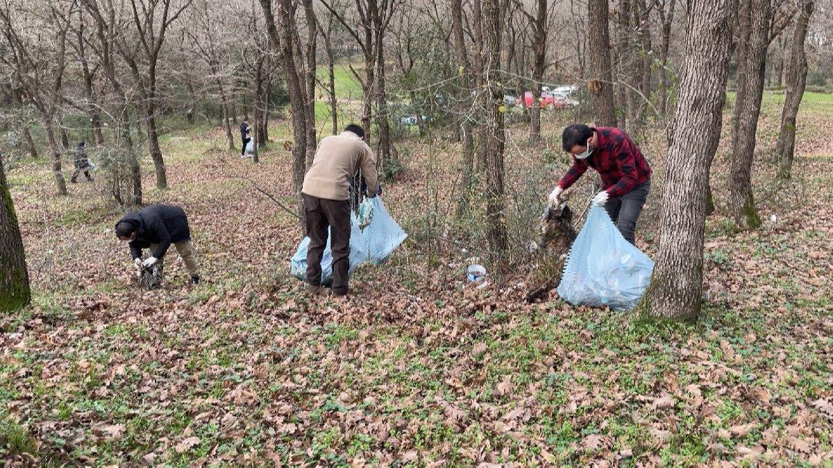 İstanbul ormanlarında gönüllü temizlik - Güncel yaşam haberleri