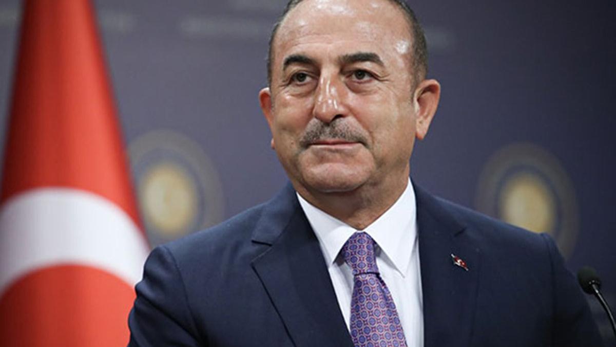 Çavuşoğlu'ndan Kıbrıs açıklaması: İki devletli bir çözüm olması gerekiyor