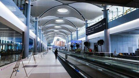 İstanbul Havalimanı'nda hayrete düşüren olay