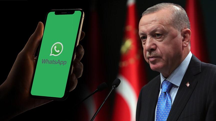 Erdoğan'dan WhatsApp hamlesi