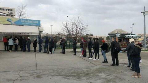 Akbil bayilerinde İstanbulkart ile HES kodu eşleştirme kuyruğu