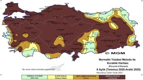 Meteoroloji'den korkutan harita! Tehdit büyüyor