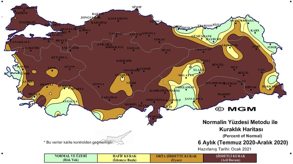 Son dakika... Meteoroloji'den korkutan harita! Tehdit büyüyor