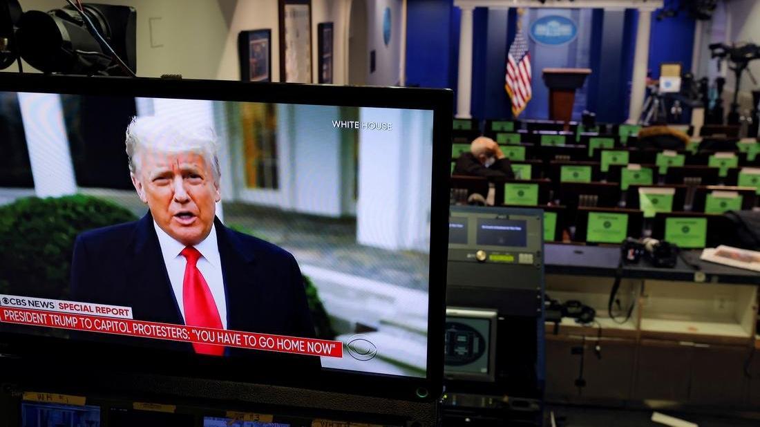 ABD'de kritik gün! Trump'ın azil süreciyle ilgili oturum başladı