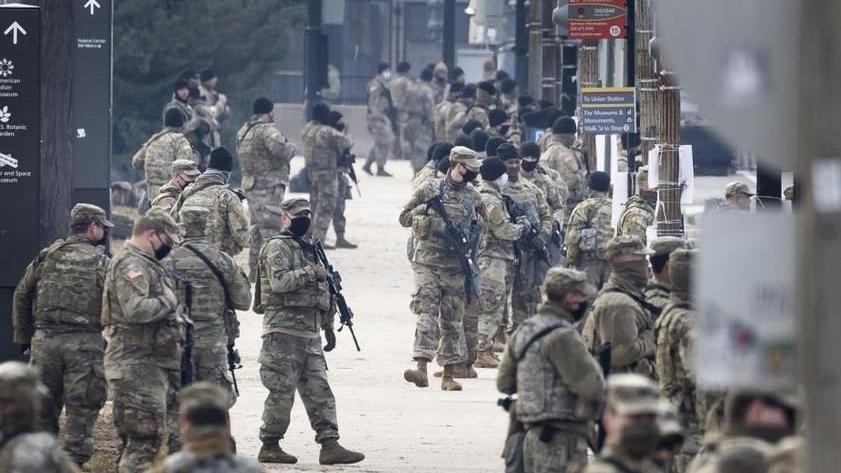 Biden'ın yemin töreni öncesi ABD'de sıkı güvenlik önlemleri alınıyor