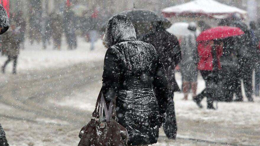 Son dakika… Meteoroloji'den 19 il için kar yağışı uyarısı