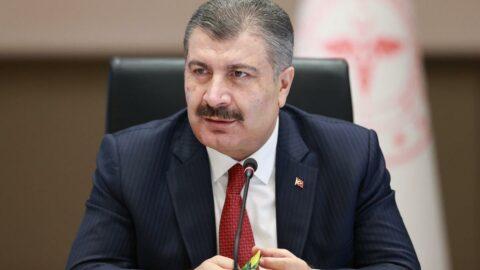 Bakan Koca'dan HDP ve TİP'e teşekkür