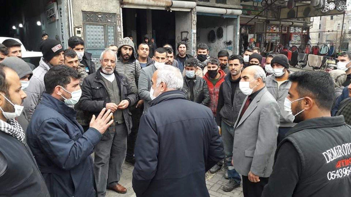 AKP'li belediye 50 esnafın dükkanını boşaltması için tebligat gönderdi