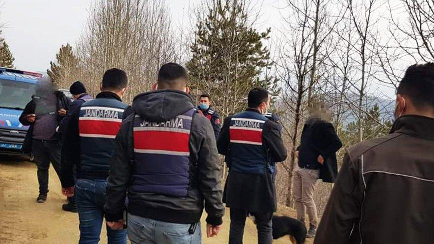 Kızıl geyik avlayan iki kişiye 27 bin 101 lira ceza