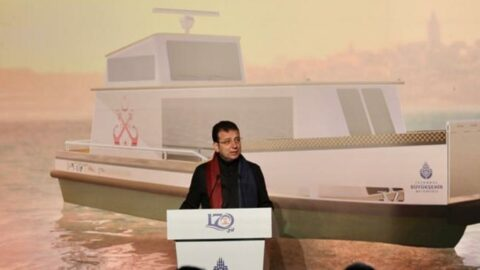 İmamoğlu açıkladı! İstanbul'da 50 deniz taksi hizmet verecek