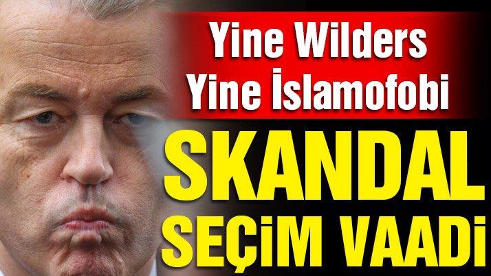 Geert Wilders'in seçim vaadi tepki topluyor