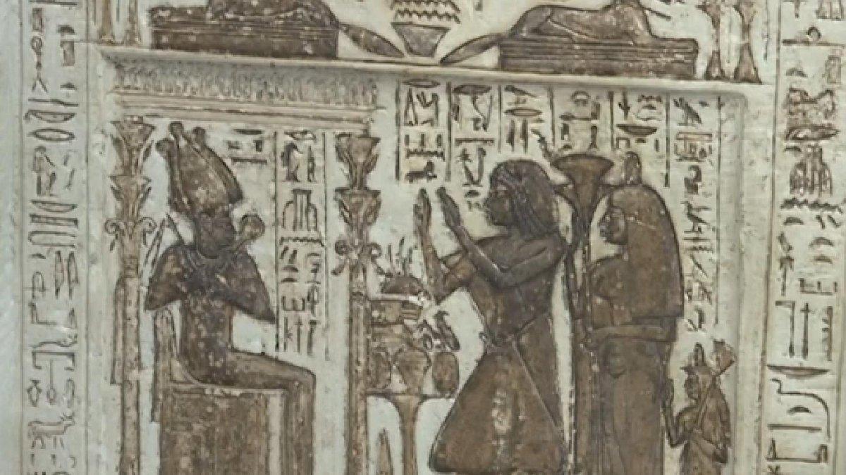 Mısır'da tarihi keşif: 4 bin yıllık cenaze tapınağı bulundu