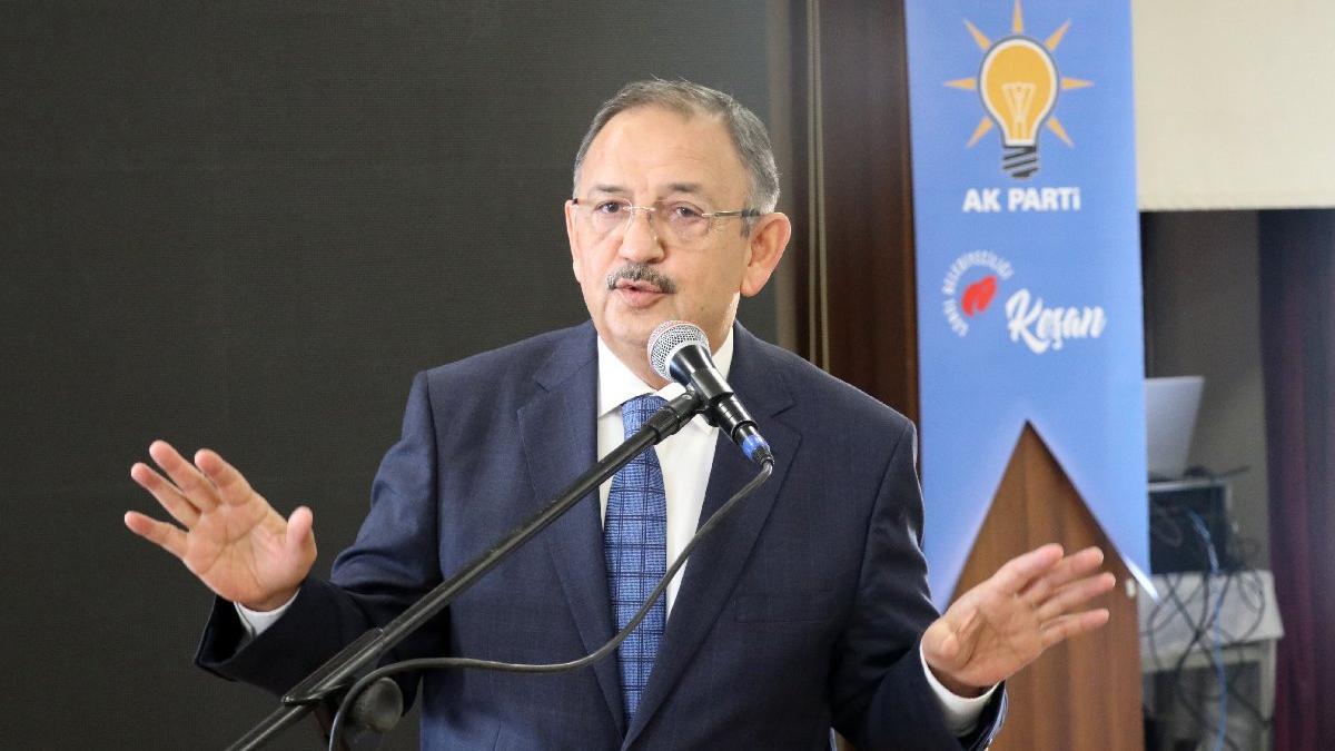 AKP'li Özhaseki'den tartışılacak sözler