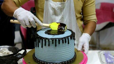 Cinsel organ şeklinde pasta yapan kadına gözaltı