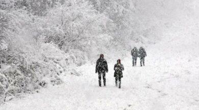 Son dakika... Meteoroloji'den 11 ile kar yağışı uyarısı