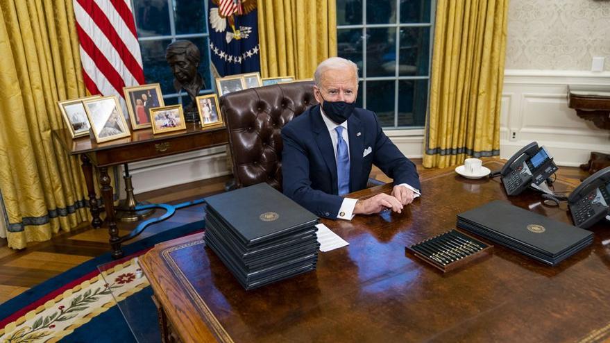 Biden'dan Oval Ofis'e ince dokunuş: Bu detaylar dikkat çekti