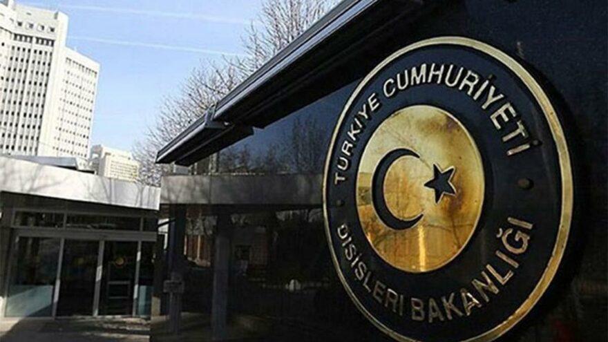 Dışişleri Bakanlığı'ndan 'Dostluk' anlaşması açıklaması