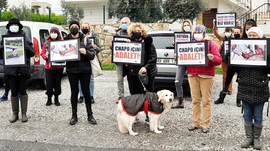 Chapo için 'Adalet istiyoruz' eylemi